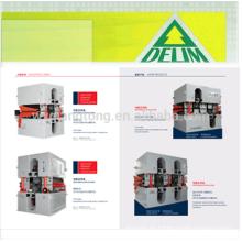 MDF / HDF / máquina de lijado de la tabla Partical / doble lijadora de cabeza para MDF