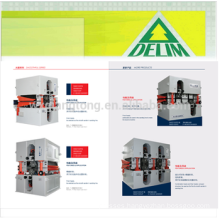 MDF / HDF / Partical board sanding machine/double head sanding machine for MDF