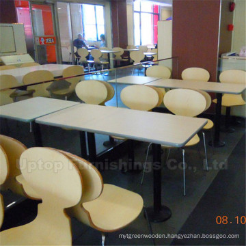 Chinese Fast Food Canteen Bentwood Chair (SP-CS296)