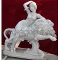 Резной мраморный скульптурный камень статуи из камня с гранитным песчаником (SY-X1551)
