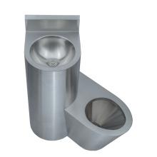 Combinação de vaso sanitário e lavatório