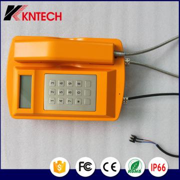 Telefone Resistente ao Clima Knsp-18LCD From Kntech