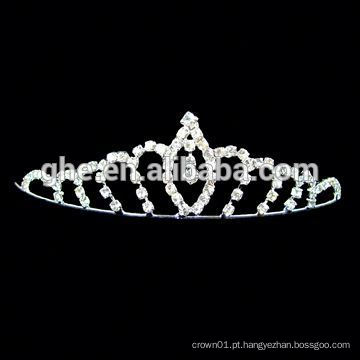 New fashion wholesale rhinestone tiara hair band