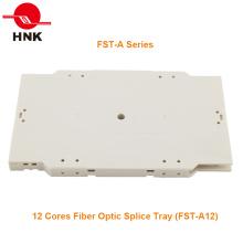 Bandeja de Empalme de Fibra Óptica de 12 ó 24 Cores (Serie FST-A)