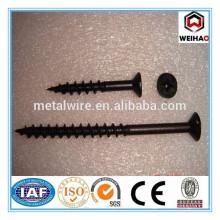 cross flat head black phosphate bugle head thread screw nails