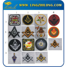 Masonic Iron on Embroidery Patches