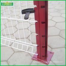 Заводская цена дешевая и тонкая 8-проводная сетчатая ограда