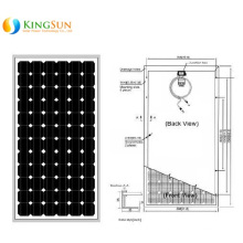 180W Middle East Standard Mono Solar Power Modules