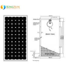 180W Middle East Standard Mono Solar Power Modules