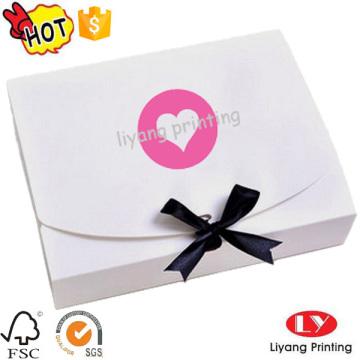 Bonne qualité personnalisé papier plat pliant des boîtes-cadeaux