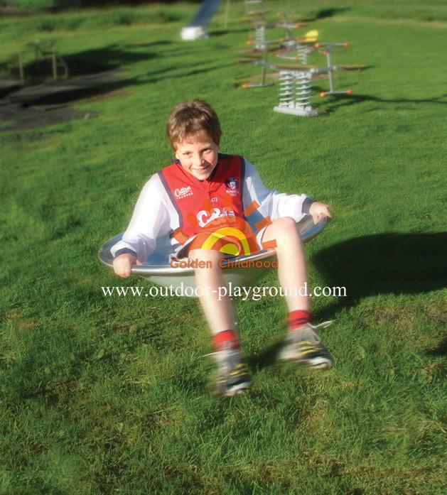 Roundabout Rider Park Playground