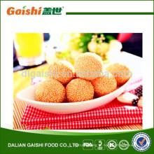 venda quente delicioso Chinês congelado bola de gergelim puro