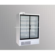 Geladeira congeladora comercial com freezer vertical