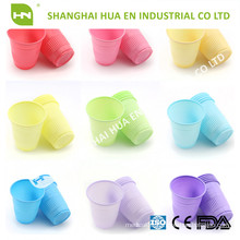Pink Plastic disposable drinking cup