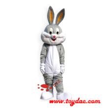 Plush Rabbit Mascot Costume