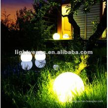 Boule lumineuse rechargeable de RVB LED de 30cm IP68