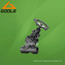 Geschraubtes Stahlglocken-Ventil der Zugkraft-800lb (GAJ61Y)