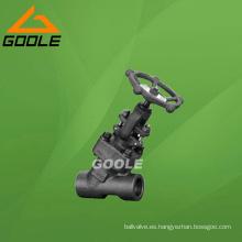 Válvula de globo de acero compacta con perno atornillado 800lb (GAJ61Y)