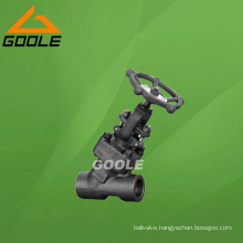 800lb Bolted Bonnet Forged Steel Globe Valve (GAJ61Y)
