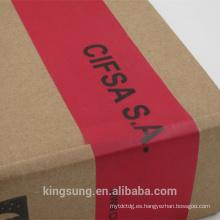 anti tamper VOID cinta personalizada con la impresión de logotipo para la venta