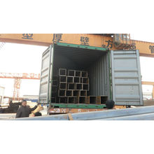 Ms tubes carrés / tubes à section creuse ASTM A500 export vers DUBAI
