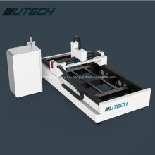 Máquina de corte por láser de fibra 1000W para lámina de metal