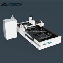 Máquina de corte a laser de fibra 1000W para folha de metal
