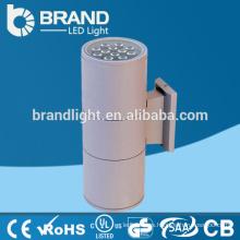 IP65 impermeable 2X12W al aire libre montaje de pared llevó luz, lámpara de pared al aire libre, CE RoHS