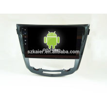 HOT!car dvd with mirror link/DVR/TPMS/OBD2 for 10.1 inch full touch screen quad core 4.4 Android system X-TRAIL/QASHQAI