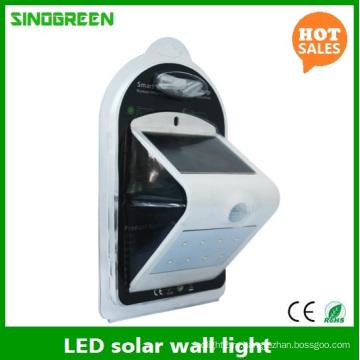 Светодиодная солнечная настенная лампа Smart Solar & Sensor Светодиодная настенная розетка Ce RoHS
