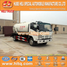 JAPAN technology 4x2 10000L vacuum pump truck with vacuum pump 4HK1-TCG40 190hp