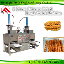 China Traditional Snacks Fried Dough Twist Machine Production Line