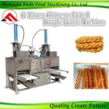 Máquina de formação de torção de massa frita chinesa