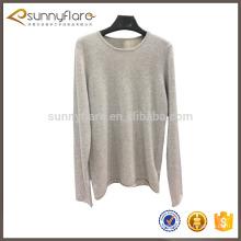 Como suéter de tejer modelo de jersey para damas