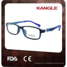 2017 coloré flexible temple enfants lunettes optiques lunettes