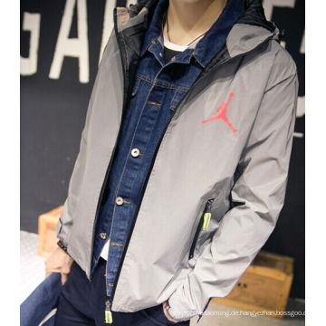hohe Licht silbergrau Sicherheit reflektierende Jacken / reflektierende Sicherheitsjacke