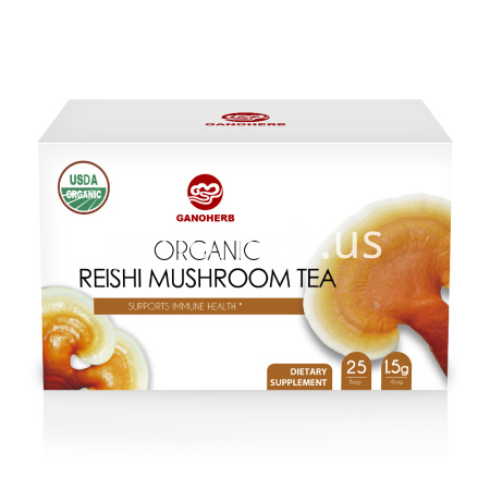 Reishi Mushroom Ganoderma Lucidum Healthy Tea Bag
