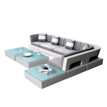 Ensemble de sofa de meubles de rotin de Homebase