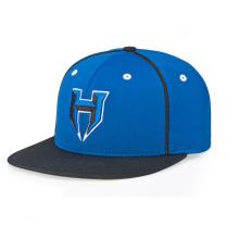 Синий Вышитые Snapback Шляпы Оптовая