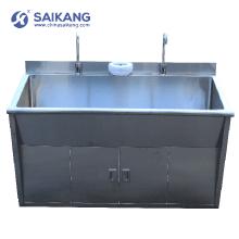 Dissipador de lavagem material do SUS 304 do aço da medicina SKH036-2 para o hospital