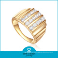 Gold Plating 925 Sterling Silver Ring (SH-R-0453)