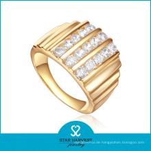 Vergoldung 925 Sterling Silber Ring (SH-R-0453)