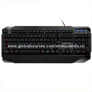 Gaming Keyboard, 104-key, Backlight Support, Four-star Waterproof