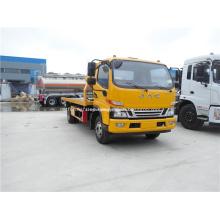 JAC 4x2 Nuevo camión de remolque plano para camión de auxilio
