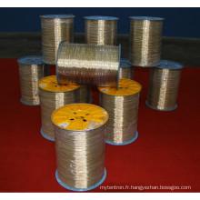 Fil d'acier à haute teneur en carbone (3 * 0.20 + 6 * 0.35HT)