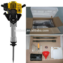 1900w 2.5HP 52cc Professional Portable Mini Gasoline Jack hammer Drill Handheld Petrol Breaker