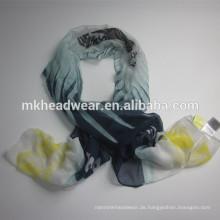 Frauen-Weltmeisterschaft gedruckt Soft-Touch-Voile-Schal