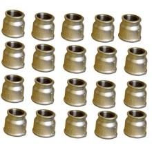 Soquetes de redução de ferro maleável frisado