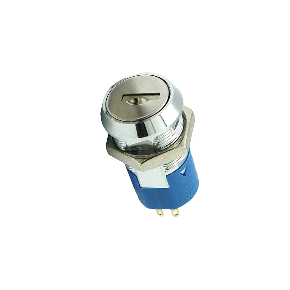 UL High Current Electrical 5 Position Key Switch
