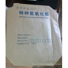 20kg Специальный мешок клапана крана алюминиевого Hydroxide крафт-бумаги